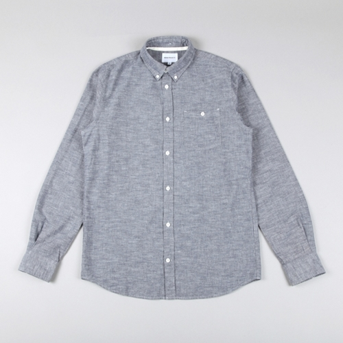 Norse Projects Anton Chambray Shirt Navy