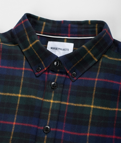 Norse Store Premium Casual and Sportswear Online Norse Projects Almar Flannel Shirt