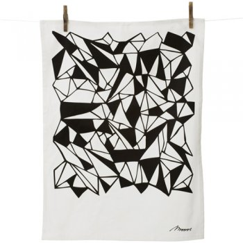  Monroe Tea Towel Black Branch Sustainable Design for Living