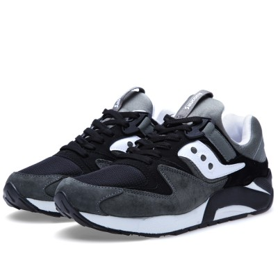 Saucony Grid 9000 Premium Grey Black
