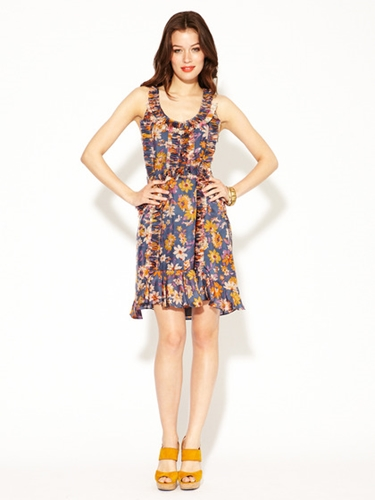 Silk Sebastiana Dress by Sachin Babi at Gilt