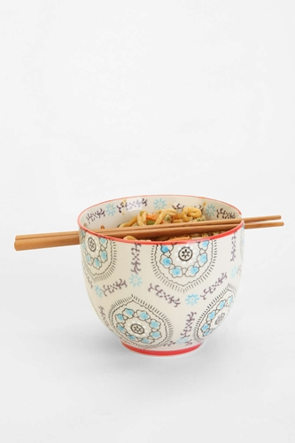 Medallion Noodle Chopsticks Bowl Urban Outfitters