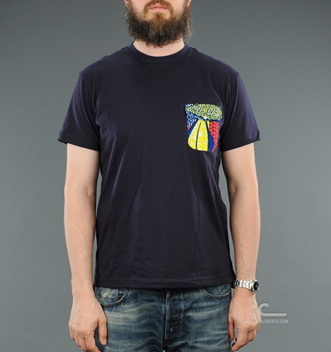 Monitaly Pocket Tee MON80004 NVY SS12 Caliroots com