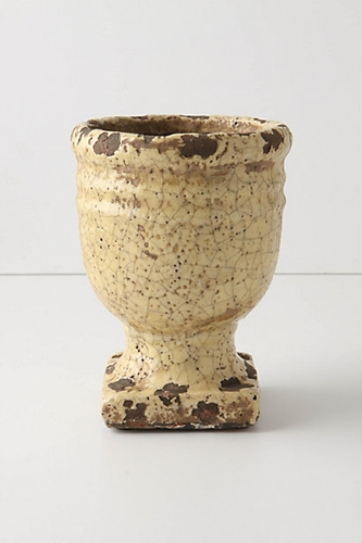 Aged Herb Pot Anthropologie.Eu