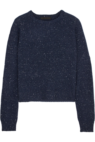 Cashmere And Cotton Blend Sweater Alexander Wang The Outnet