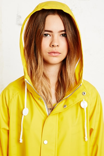 Bdg Fisherman Coat In Yellow At Urban Outfitters