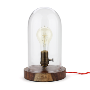 Old Faithful Shop Bell Jar Lamp