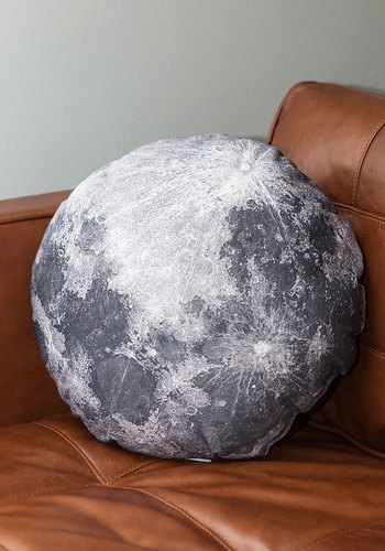 Soft Side Of The Moon Pillow Mod Retro Vintage Decor Accessories Modcloth.Com