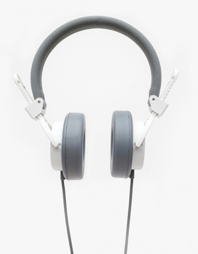 Capital Headphones With Mic In White