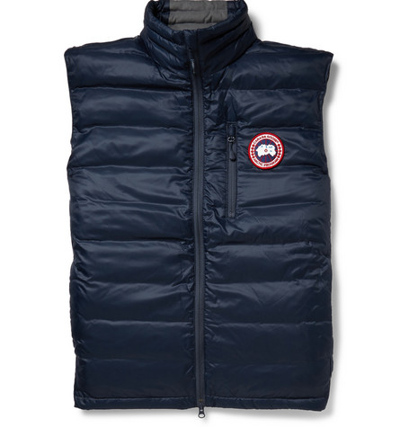 Canada Goose Lodge Packaway Down Filled Quilted Gilet Mr Porter