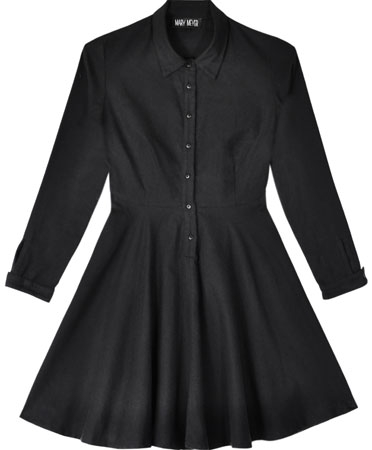 Mary Meyer Black Wednesday Dress