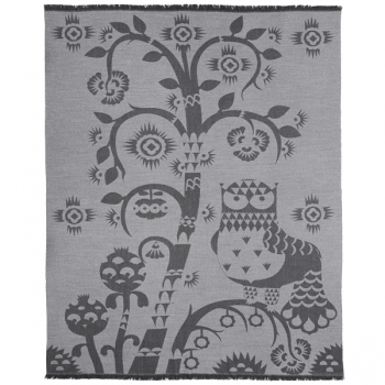 Taika Throw Grey Throws Decoration Finnish Design Shop
