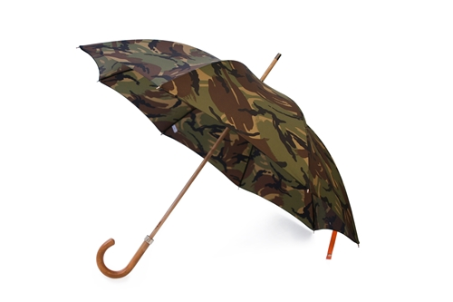 British Woodland Camouflage Umbrella Made in London England
