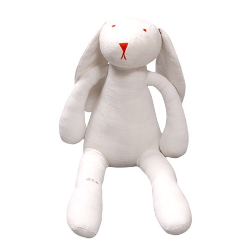Les Toiles Blanches Alphonse Rabbit Plush toy Smallable