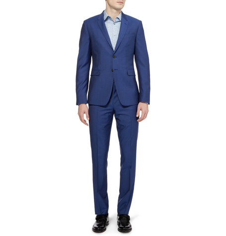 Paul Smith London Kensington Slim Fit Wool And Mohair Blend Suit Mr Porter