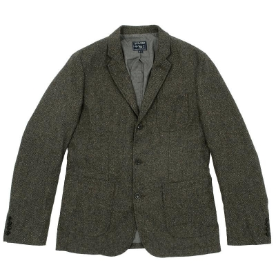 Woolrich Worker s Tweed Jacket Conductor Green