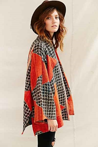 Urban Renewal Recycled Kantha Quilt Coat Urban Outfitters