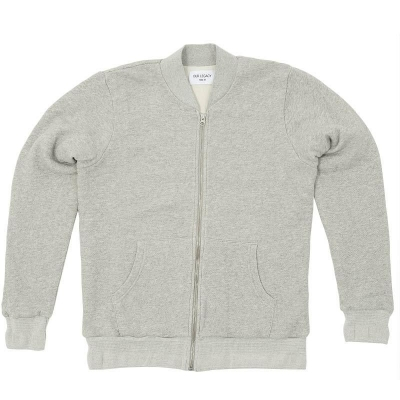 Our Legacy Lined Bomber Grey Melange