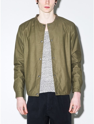 Journal Art Bomber Jacket Oak