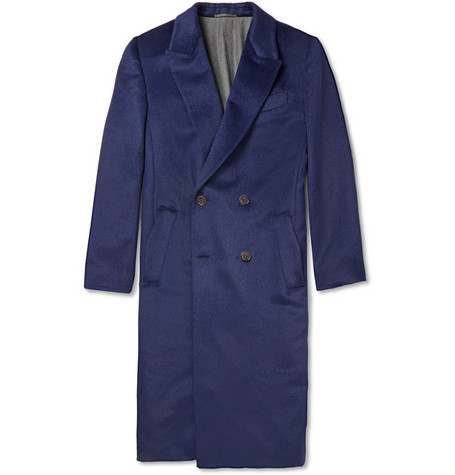 Berluti Baby Llama And Wool Blend Overcoat Mr Porter