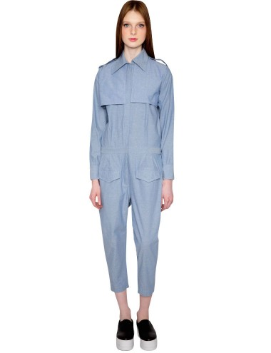 Farahbella Denim Jumpsuit Chambray Jumpsuit 285