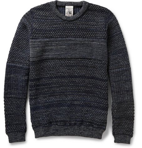 S.N.S. Herning Temporal Textured Wool Sweater Mr Porter