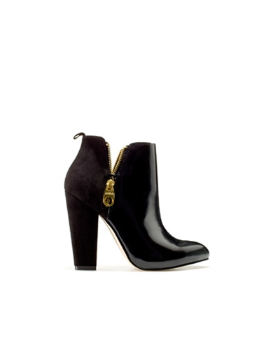 ANKLE BOOT WITH DOUBLE ZIP Shoes Woman New collection ZARA Netherlands