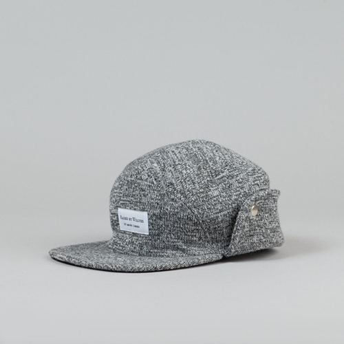 Raised By Wolves Skyline Earflap Cap Light Grey Black At Flatspot