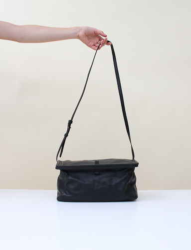 Mm6 Shoulder Bag Black