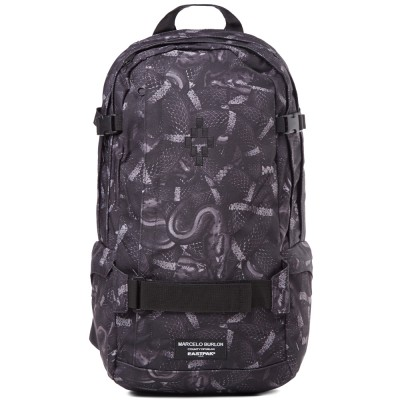 Marcelo Burlon X Eastpak Nylon Snake Back Pack Black Monochrome