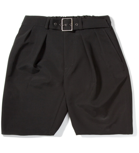 3.1 Phillip Lim Black Karate Short With Adjustable Belt Hypebeast Store