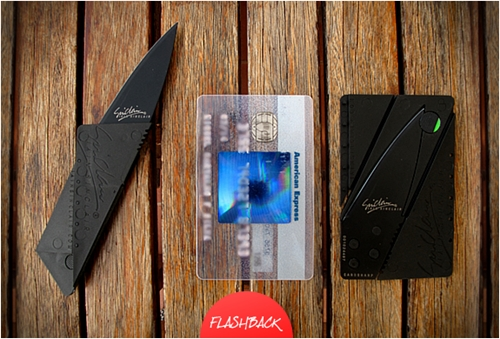 CARDSHARP CREDIT CARD SIZED POCKET KNIFE