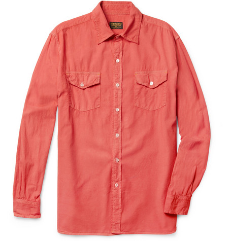Jean Shop Cotton Chambray Shirt Mr Porter