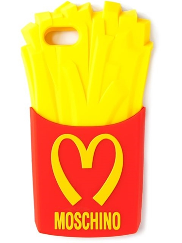 Moschino Coque Iphone A Design De Frites Spinnaker 141 Farfetch.Com