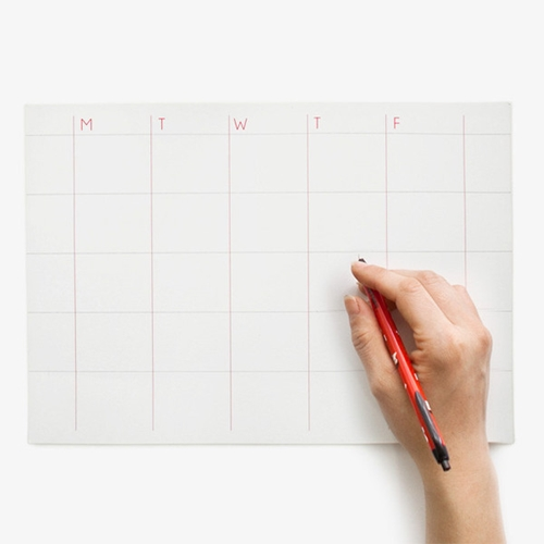 Stick Up Monthly Planner Poketo
