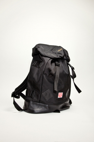 Neighborhood Nylon Backpack Black TRES BIEN