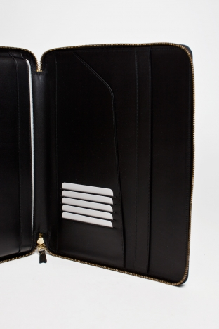 Comme des Gar ons Wallet Luxury Group iPad Case Black TRES BIEN