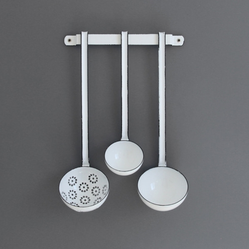 Labour And Wait Enamel Ladle Set