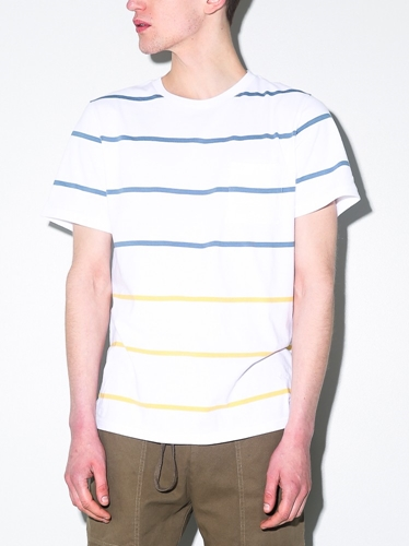 Saturdays Randall Shore Stripe Tee Oak