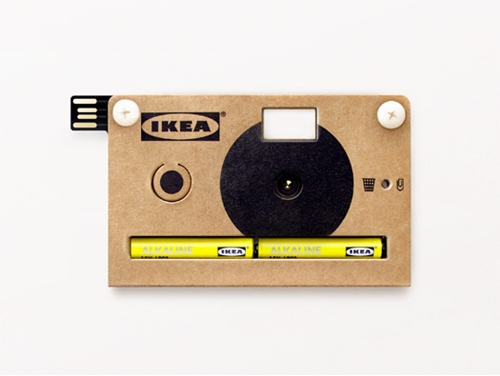 Video Knappa Cardboard Digital Camera by Jesper Kouthoofd