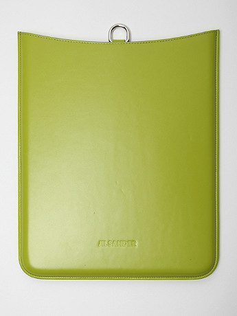 Jil Sander Men s iPad Holder in green at oki ni