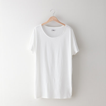 Acne Above Long Scoop Neck T Shirt Womens Tops Steven Alan