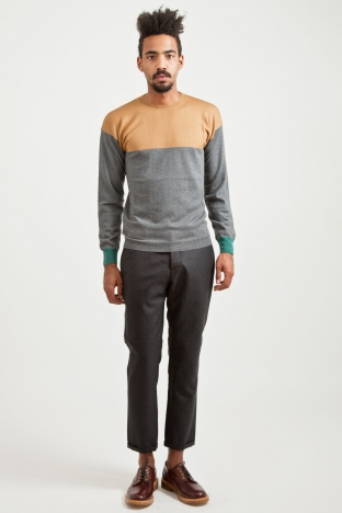 Marni Wool Sweater Graphite TRES BIEN