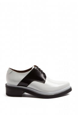 Acne Lark Mix Lace Up Oxford By Acne