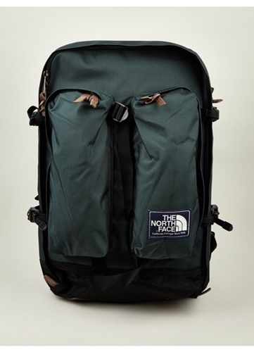The North Face Men's Green Heritage Crevasse Backpack Oki Ni