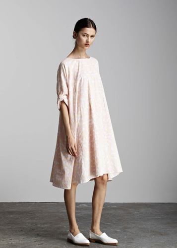 Kowtow 100 Certified Fair Trade Organic Cotton Clothing Solid Light Dress