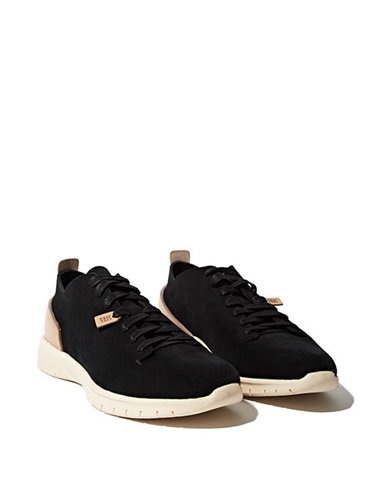 Feit Men's Handsewn Runner In Black Ln Cc