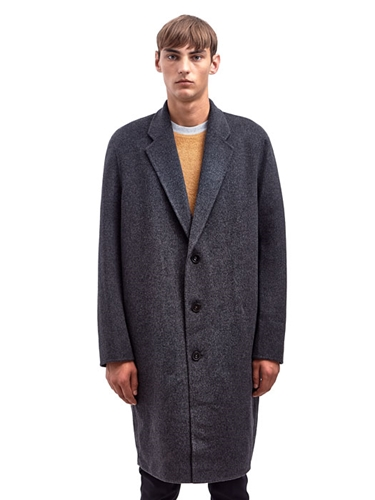 Acne Mens Charles Oversized Wool Coat