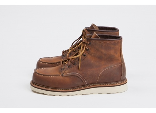 Red Wing Shoes Red Wing Shoes 1907 6 Classic Moc Copper Roug