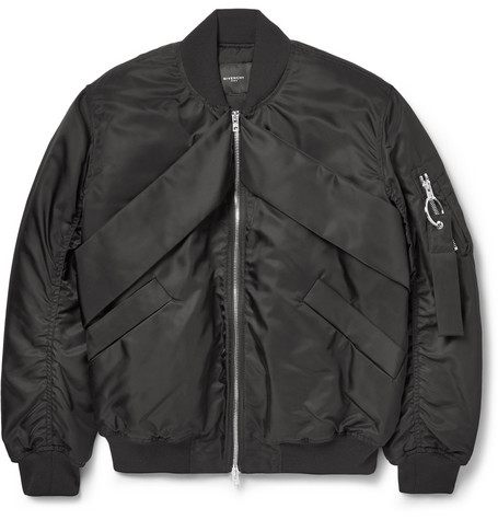 Givenchy Shell Bomber Jacket Mr Porter